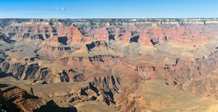 Beautiful landscape of Grand canyon panorama Royalty Free Stock Photography