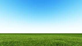 Beautiful landscape, grass clean blue sky. Beautiful landscape, grass lean blue sky 1 Stock Image