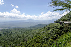 The beautiful landscape of the Great Rift Valley Royalty Free Stock Photography