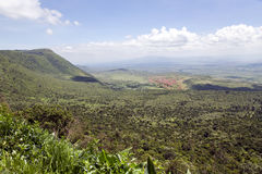 The beautiful landscape of the Great Rift Valley Royalty Free Stock Image