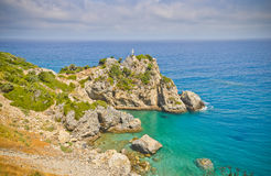 Beautiful landscape in Greece Royalty Free Stock Photography