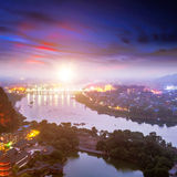Beautiful landscape in Guilin Royalty Free Stock Image