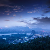 Beautiful landscape in Guilin Royalty Free Stock Photography