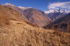 Beautiful landscape in Himalaya Stock Image