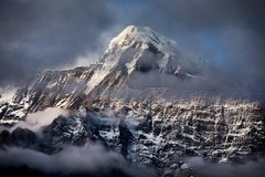 Beautiful Himalayan Mountains stock images