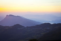 Beautiful landscape in Himalayas Royalty Free Stock Image