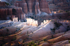 Beautiful landscape with hoodoos in the Bryce Canyon National Park Stock Photography