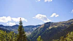 Beautiful landscape, Italian Prealps mountains Stock Images