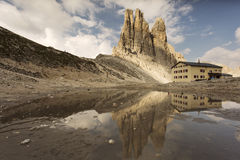 Beautiful landscape Italy beauty, Dolomites / Dolomiti mountains Stock Photography