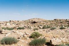 Beautiful landscape Jordan Royalty Free Stock Photos