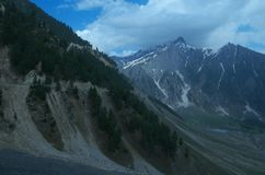 Sonmarg Landscape in Kashmir-13 Royalty Free Stock Photo