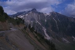 Sonmarg Landscape in Kashmir-14 Royalty Free Stock Photo