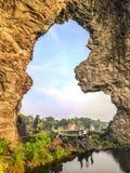 Beautiful landscape in kerala stock photo