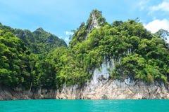 Beautiful landscape of Khao sok national park at suratthani Stock Image