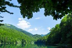 Beautiful landscape with lake Stock Image
