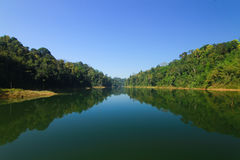 Beautiful landscape at lake Royalty Free Stock Photos