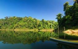 Beautiful landscape at lake Stock Photos