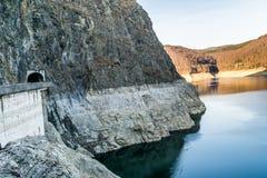 Landscape of the lake Vidraru. Beautiful landscape of the lake Vidraru Romania Royalty Free Stock Images