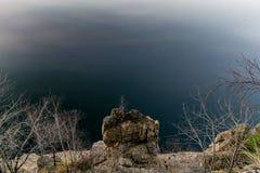 Edge of lake Vidraru. Romania Royalty Free Stock Image