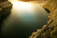 Landscape of lake Vidraru Romania. Beautiful landscape of the lake Vidraru Romania Royalty Free Stock Photography