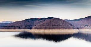 Landscape of lake Vidraru Romania. Beautiful landscape of the lake Vidraru Romania Stock Photo