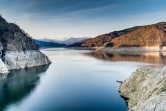 Beautiful landscape of the lake Vidraru. Romania Royalty Free Stock Image