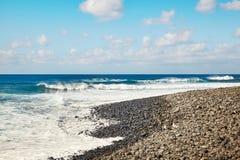 Beautiful landscape of Lanzarote Island Stock Image