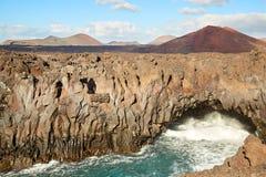 Beautiful landscape of Lanzarote Island Royalty Free Stock Image