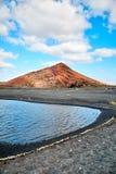 Beautiful landscape of Lanzarote Island Royalty Free Stock Photo