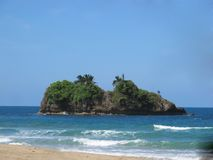 Limon caribe costa rica Punta cocles. Beautiful landscape of Limon caribe costa rica royalty free stock images