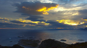 Beautiful landscape Lofoten Stock Image