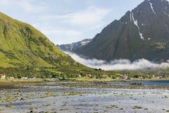 Beautiful landscape of Lofoten Islands Stock Photos