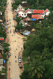 The beautiful landscape of luang prabang Royalty Free Stock Image