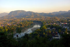 Beautiful landscape in Luang Prabang Royalty Free Stock Image
