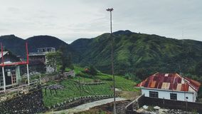 Beautiful landscape in Magetan Stock Photography