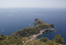 Beautiful landscape in Majorca. Stock Photos