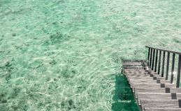 Beautiful landscape on Maldive islands Royalty Free Stock Images