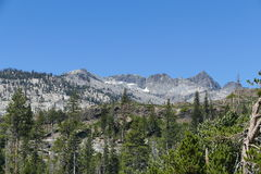 Beautiful landscape in Mammoth Lake Royalty Free Stock Image