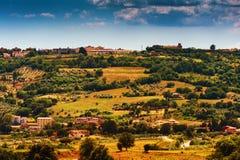 Beautiful landscape of Massa Marittima area Royalty Free Stock Photography