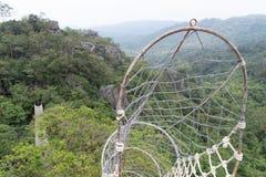 Beautiful landscape at Masungi Georeserve, Rizal. Philippines royalty free stock images
