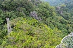Beautiful landscape at Masungi Georeserve, Rizal. Philippines stock photo