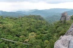 Beautiful landscape at Masungi Georeserve, Rizal. Philippines royalty free stock photo