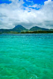 Beautiful landscape  Mauritius Royalty Free Stock Photography