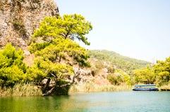Beautiful landscape of Mediterranean sea Stock Photography
