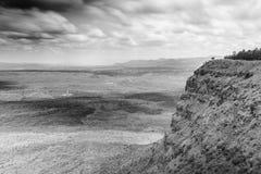 Beautiful landscape of Menengai Crater, Nakuru, Kenya Stock Images