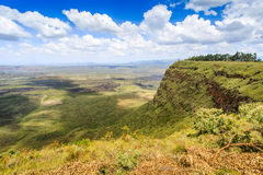 Beautiful landscape of Menengai Crater, Nakuru, Kenya Royalty Free Stock Photography
