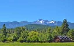 BEAUTIFUL LANDSCAPE IN MONTANA Royalty Free Stock Images