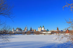 The beautiful landscape of Moscow. Royalty Free Stock Images