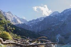 Tatra Mountains. Beautiful landscape, Moskie oko , lake Royalty Free Stock Photography