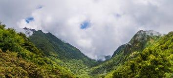 Beautiful landscape of mount Unzen in Kumamoto, Japan. Royalty Free Stock Photography